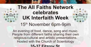 The All Faiths Network celebrates UK Interfaith Week