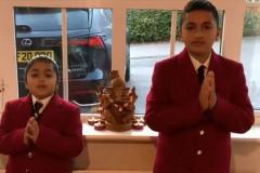 Hindu-prayer