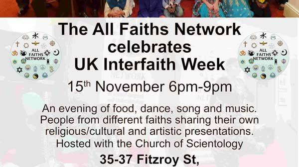 The All Faiths Network celebrates UK Interfaith Week